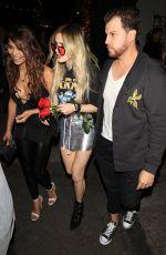 BELLA THORNE at Avenue Nightclub in Hollywood 05/02/2017