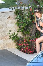 BELLA THORNE Leaves Her Villa in Cannes 05/24/2017