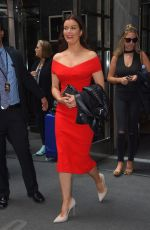 BELLAMY YOUNG Leaves Her Hotel in New York 05/16/2017