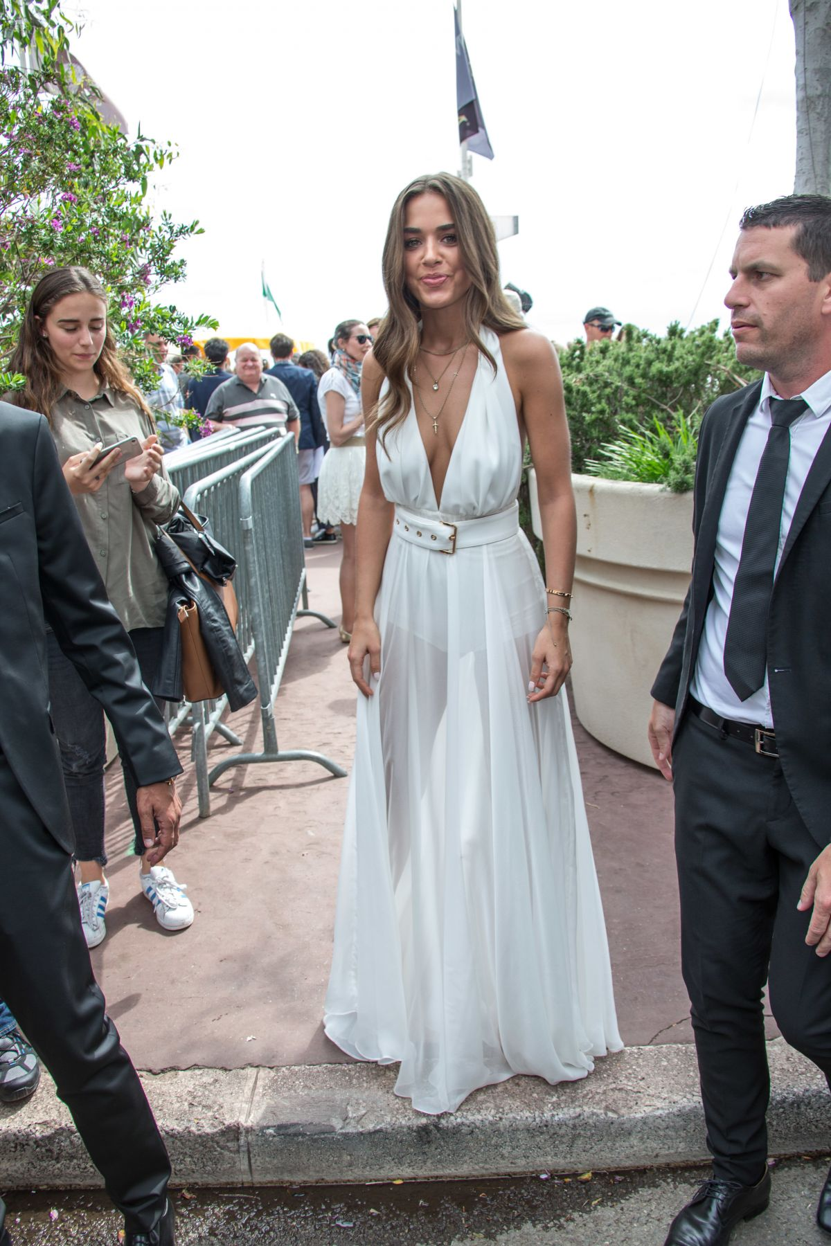 BENSU SORAL Out in Cannes 05/18/2017