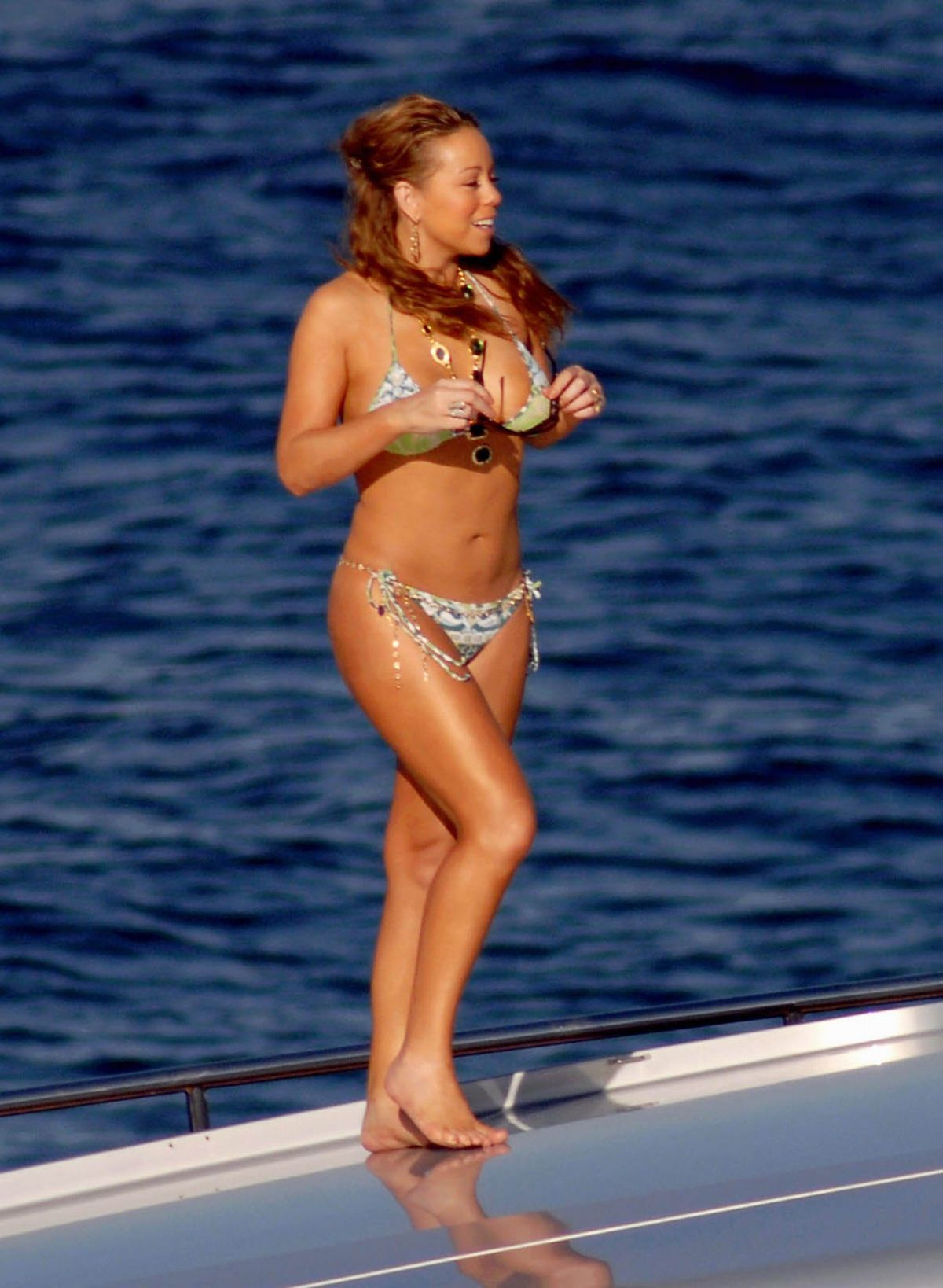 Bikini carey links mariah