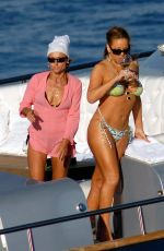 Best from the Past - MARIAH CAREY in Bikini at a Boat in Capri 07/07/2007