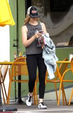 BETH BEHRS Out and About in Los Angeles 05/26/2017