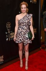 BETSY MORGAN at 32nd Annual Lucille Lortel Awards in New York 05/07/2017
