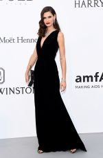 BIANCA BALTI at Amfar's 24th Cinema Against Gala at Cannes Film Festival 05/25/2017
