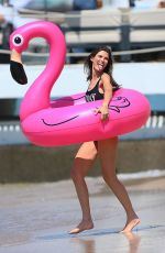 BIANCA BALTI in Swimsuit on the Set of a Photoshoot in Cannes 05/24/2017