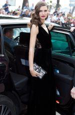 BIANCA BALTI Leaves Martinez Hotel in Cannes 05/25/2017
