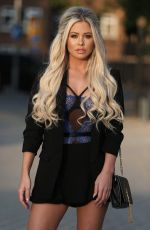 BIANCA GASCOIGNE Out and About in London 05/10/2017