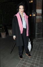 BIANCA JAGGER at Chiltern Firehouse in London 05/04/2017