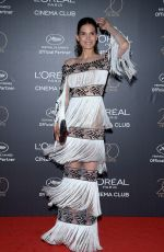 BIANCA OLIVEIRA at L'Oreal 20th Anniversary Party at Cannes Film Festival 05/24/2017