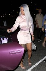 BLAC CHYNA Arrives at Stars on Brand in Glendale 05/15/2017