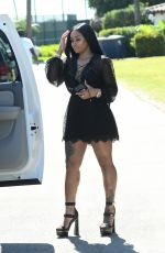 BLAC CHYNA Out and About in Miami 05/03/2017