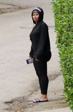 BLAC CHYNA Out at Canyon Trek in Reseda 05/09/2017