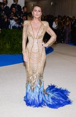 BLAKE LIVELY at 2017 MET Gala in New York 05/01/2017