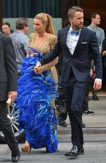 BLAKE LIVELY on Her Way to MET Gala in New York 05/01/2017