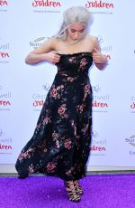 BLITHE SAXON at Butterfly Ball at Grosvenor House Hotel in London 05/25/2017