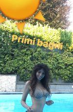 BOUCHRA in Bikini, Snapchat Pictures, 2017