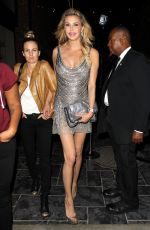 BRANDI GLANVILLE Out for Dinner in Hollywood 05/02/2017