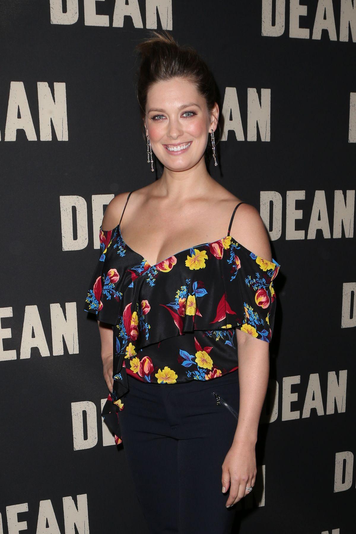 BRIGA HEELAN at Dean Premiere in Los Angeles 05/24/2017