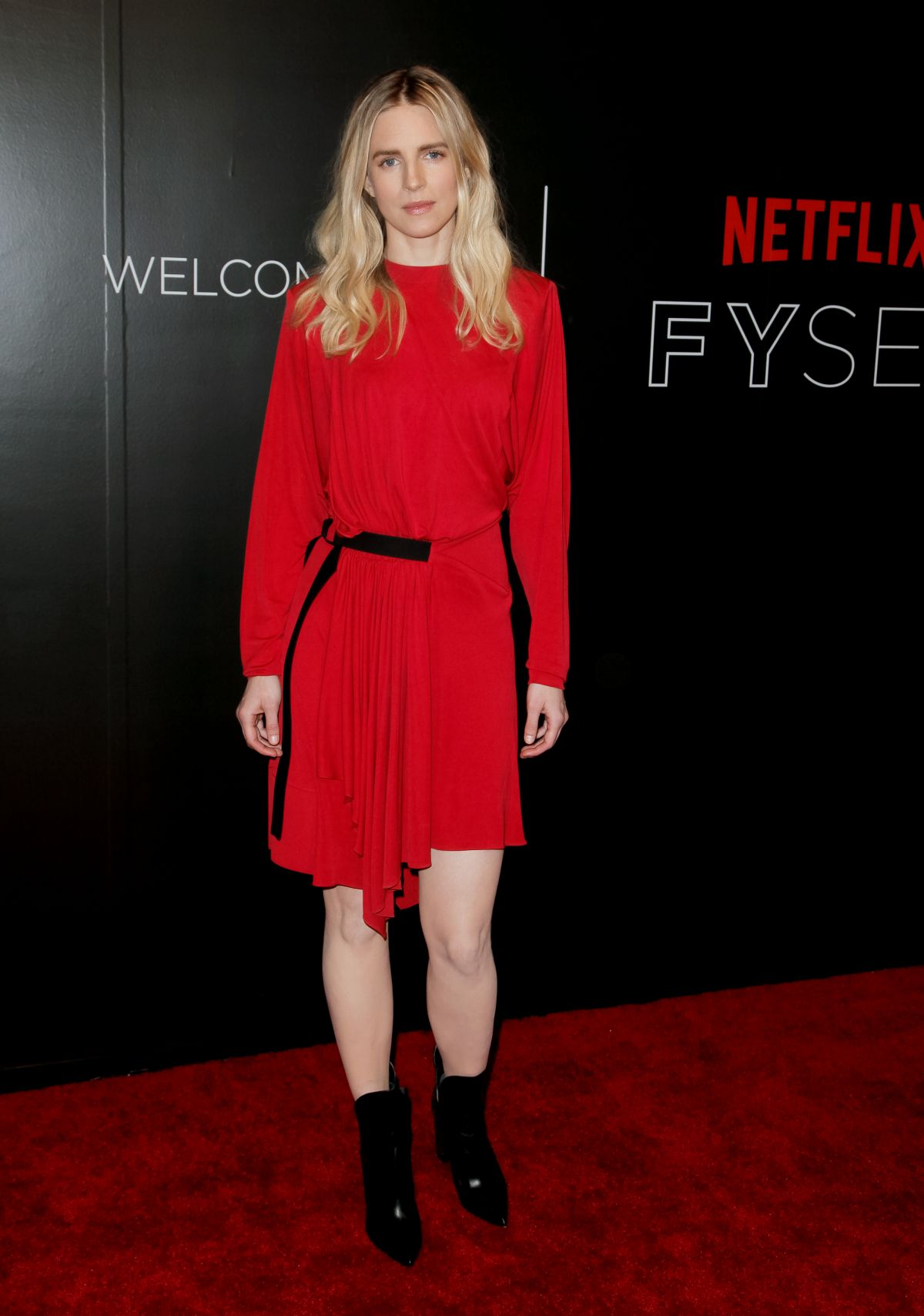 BRIT MARLING at Netflix