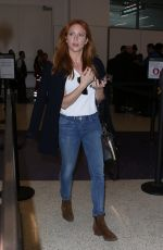 BRITANNY SNOW at LAX Airport in Los Angeles 05/18/2017