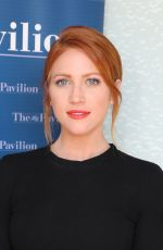 BRITTANY SNOW at American Pavilion Opening at 70th Annual Cannes Film Festival 05/21/2017