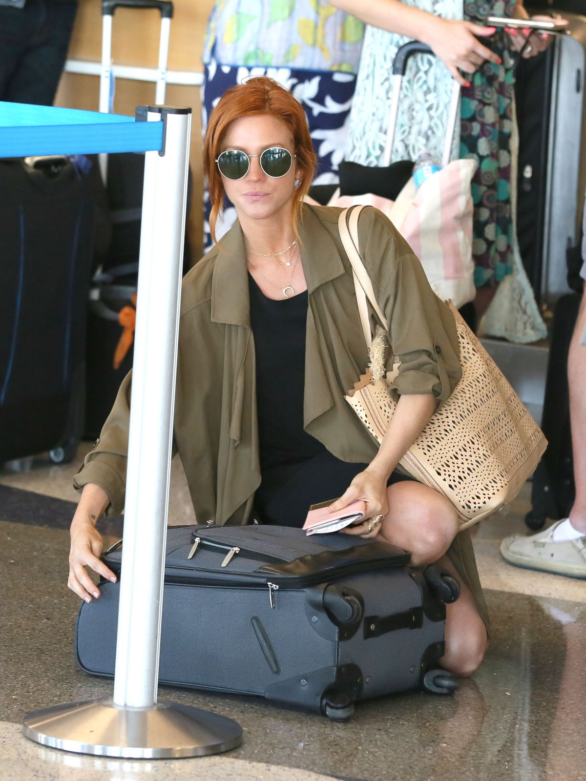 BRITTANY SNOW at Los Angeles International Airport 05/11/2017