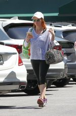 BRITTANY SNOW Out Shopping in Los Angeles 05/02/2017
