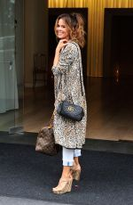 BROOKE BURKE Out and About in West Hollywood 05/22/2017