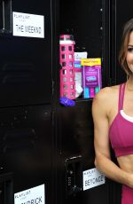 BROOKE BURKE Working Out in Los Angeles 05/09/2017