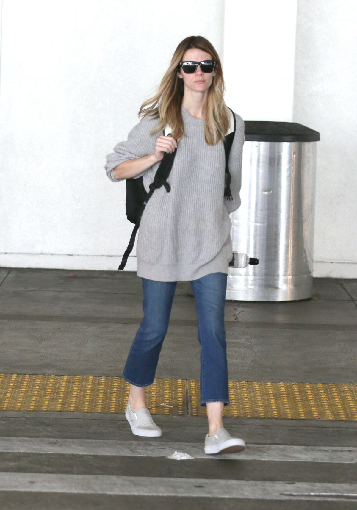 BROOKLYN DECKER at Los Angeles International Airport 05/02/2017