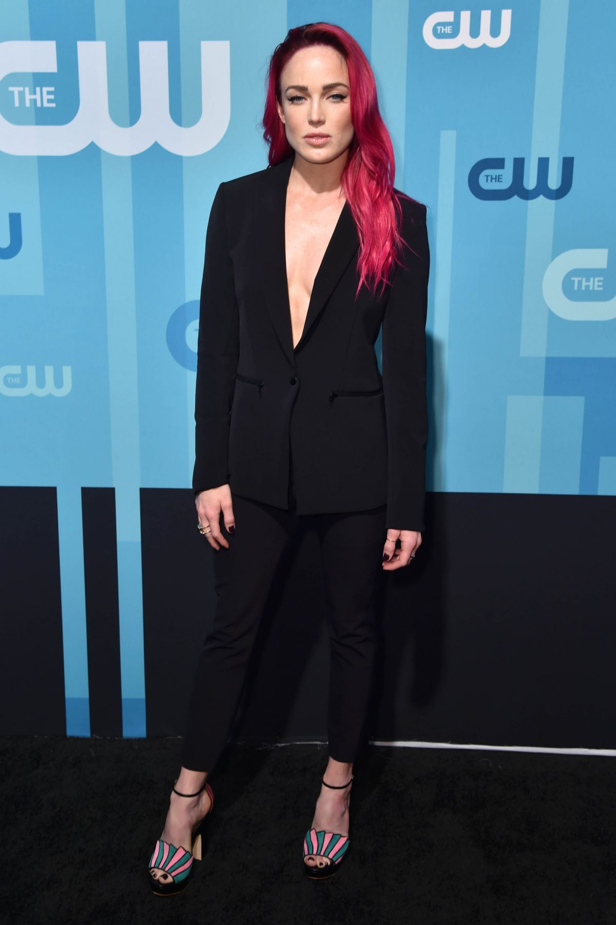 CAITY LOTZ at CW Network's Upfront in New York 05/18/2017