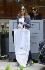 CALISTA FLOCKHART Leaves Barney