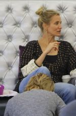CAMERON DIAZ and NICOLE RICHIE at a Nail Salon in Beverly Hills 05/24/2017