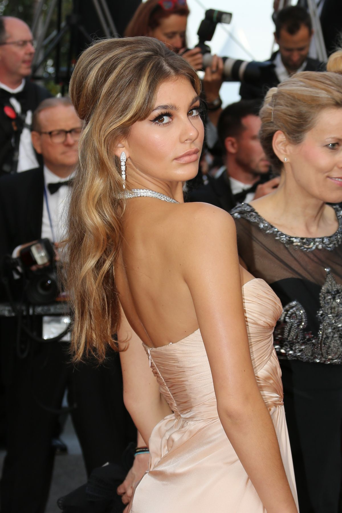 CAMI MORRONE at The Beguiled Premiere at 70th Annual Cannes Film Festival 05/24/2017