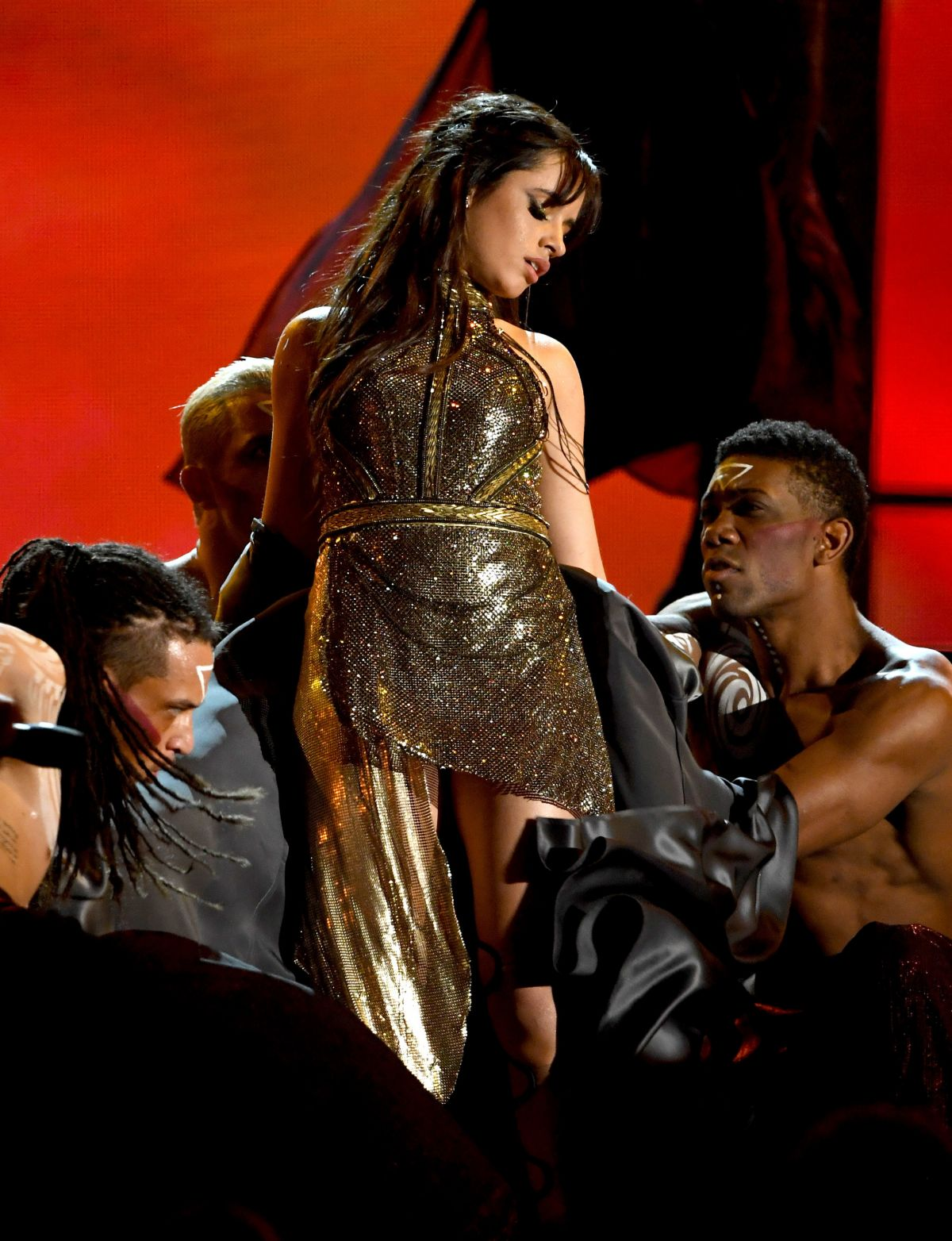 camila cabello performs at 2017 billboard music awards in. Black Bedroom Furniture Sets. Home Design Ideas