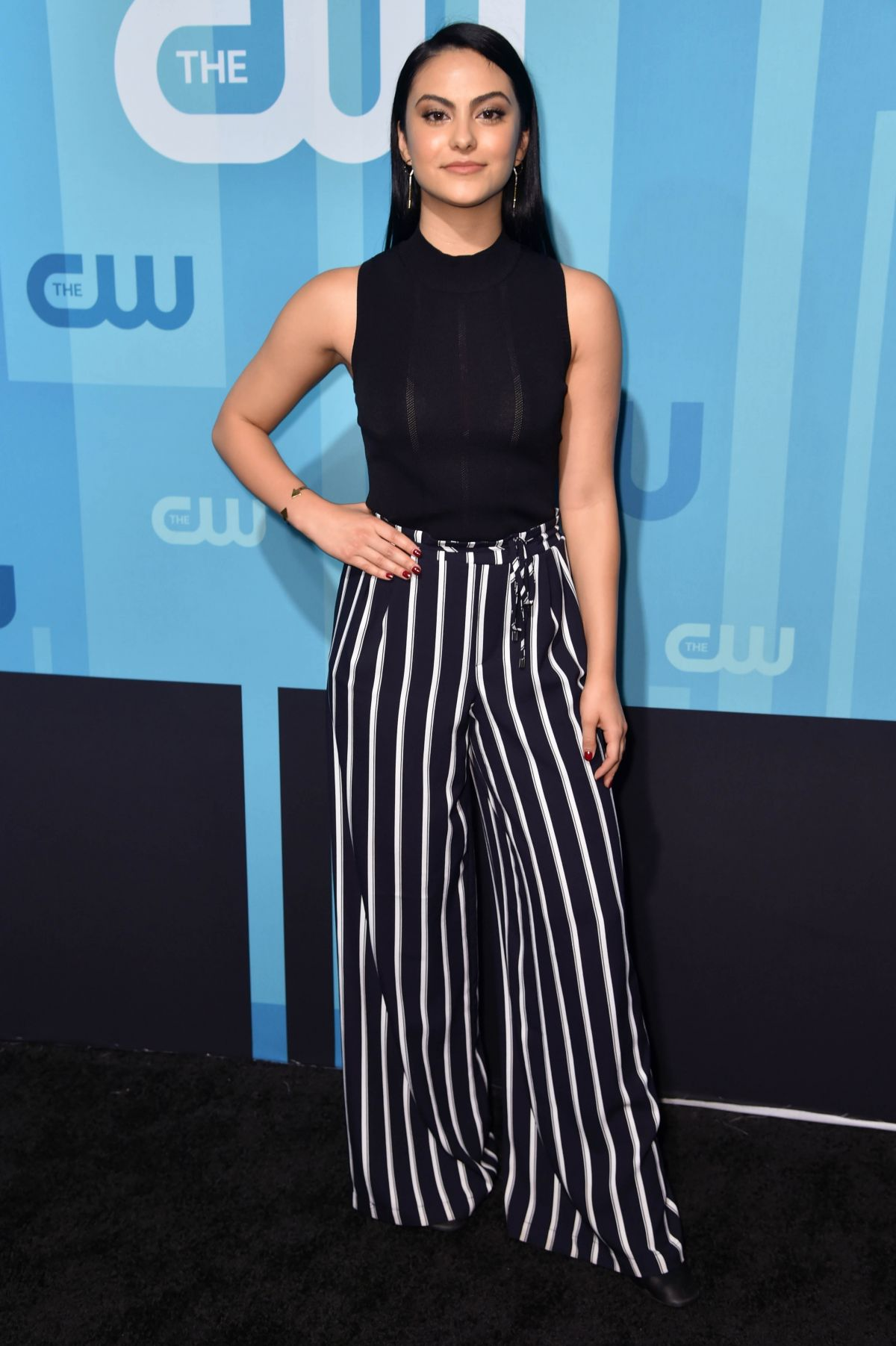 CAMILA MENDES at CW Network's Upfront in New York 05/18/2017