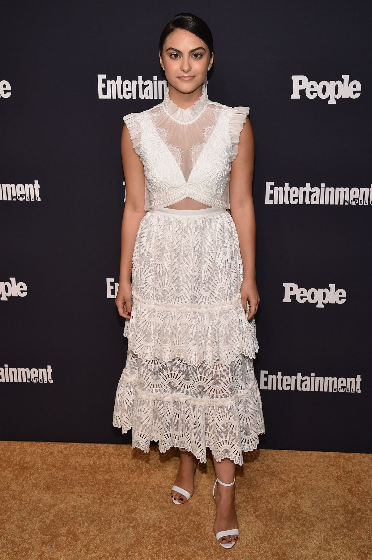 CAMILA MENDES at Entertainment Weekly and People Upfronts Party in New York 05/15/2017