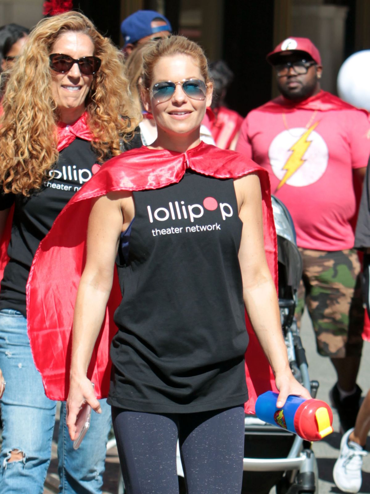 CANDACE CAMERON BURE at Lollipop Superhero Walk in Hollywood 04/30/2017
