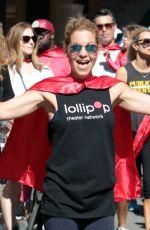CANDACE CAMERON BURE at Lollipop Superhero Walk in Hollywood 04/30/2017