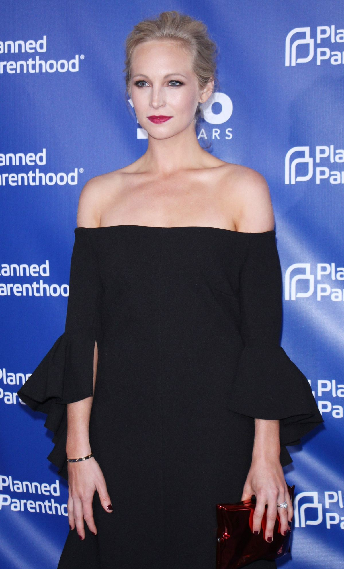 CANDICE ACCOLA at Planned Parenthood 100th Anniversary Gala 05/02/2017
