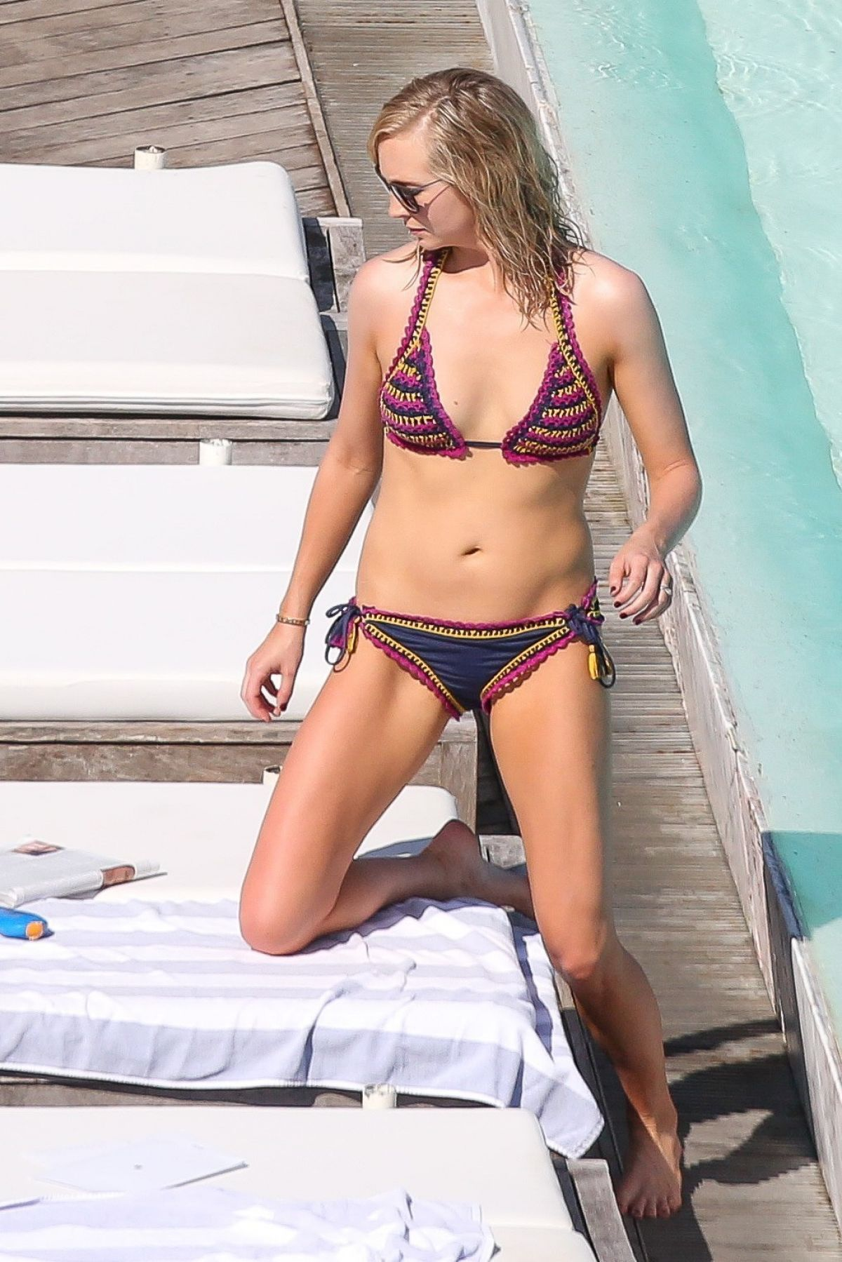 CANDICE ACCOLA in Bikini at Fasano Hotel Pool in Rio De Janeiro 05/05/2017