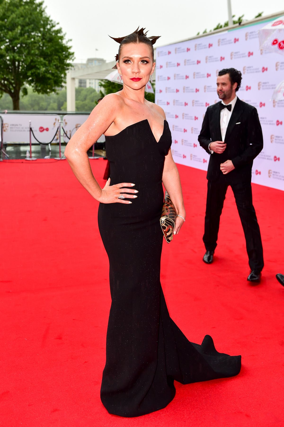 CANDICE BROWN At 2017 British Academy Television Awards In