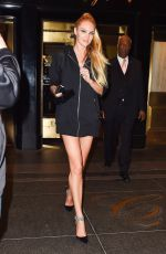CANDICE SWANEPOEL Leaves Her Hotel in New York 05/01/2017