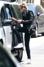 CANDICE SWANEPOEL Out and About in New York 05/10/2017