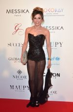 CAPUCINE ANAV at Global Gift Gala in Paris 05/16/2017