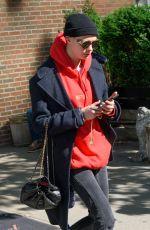 CARA DELEVINGNE Leaves Her Hotel in New York 05/02/2017