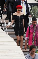 CARA DELEVINGNE Out and About in Cannes 05/18/2017