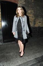 CARLY STEEL at Chiltern Firehouse in London 05/04/2017