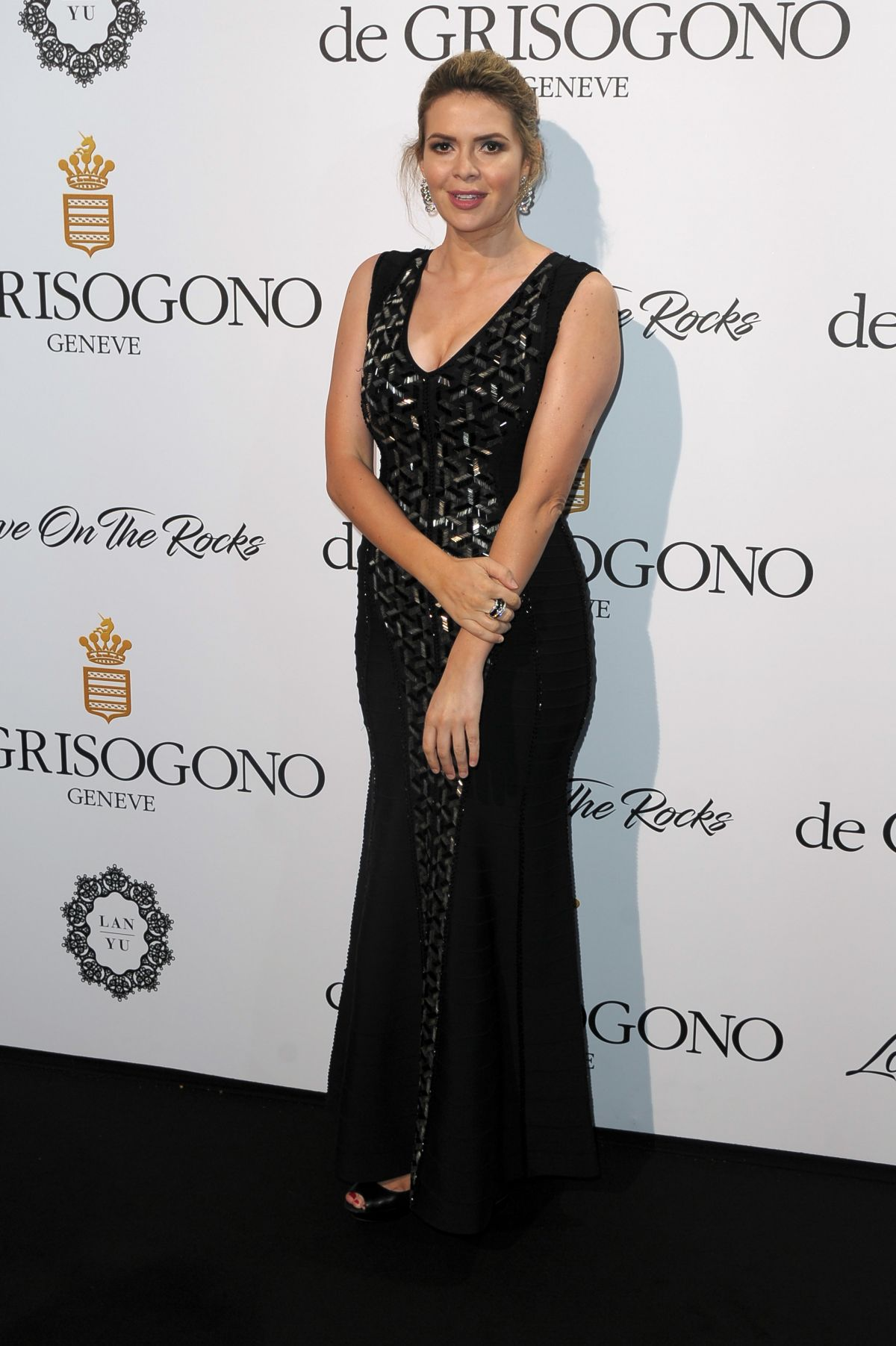 CARLY STEEL at De Grisogono Party at Cannes Film Festival 05/23/2017